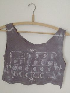 Chart of the Heavens Women's Crop Tank Small by Moonlock on Etsy