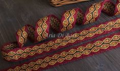 how to tablet weave viking sashes | favorite favorited like this item add it to your favorites to revisit ...