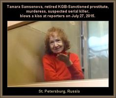 Great write-up of the facts so far. Tamara Samsonova, Russian Serial Killer Who Dismembered Her Victims - 2015 Evil World, Mad World, Scary Stories, Horror Stories, Misandry, Horrible Histories, Human Nature, Criminal Minds, Serial Killers