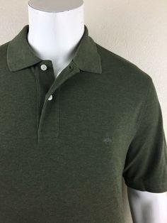 d33d224d Mens Brooks Brothers Original Fit Performance Polo Green Short Sleeve Shirt  XL #fashion #clothing