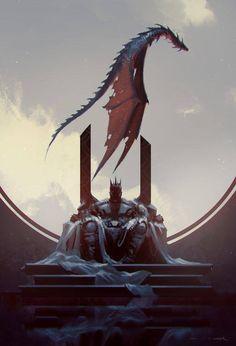 Rider King Alazam and his dragon Kratos