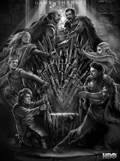 Credit to the artist Game of Thrones - Fighting for the Iron Throne Game Of Thrones Artwork, Game Of Thrones Poster, Game Of Thrones Books, Game Thrones, Ned Stark, Eddard Stark, Candy Crush Saga, Khal Drogo, Winter Is Here