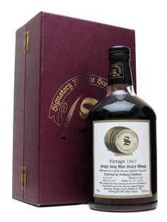 Ardbeg 1967 / 30 Year Old / Sherry Cask / Signatory Scotch Whisky : The Whisky Exchange