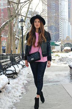 Day 2 in New York: Power Pink | Negin Mirsalehi