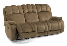 Huron Power Reclining Sofa by Flexsteel