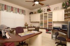 Craft Room.  Paper storage