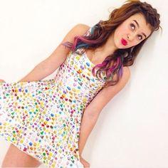 Emoji dress?!?! #love #kalani #mylife
