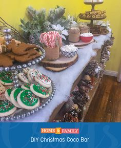 Create a coco bar for the kids this Christmas! Tune in to Home and Family weekdays at 10/9c on Hallmark Channel!