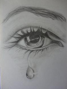 """""""Olho"""" - Desenho a lápis de grafite HB (Malay - 17/5/14)"""