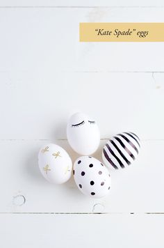 Absolutely LOVE these Kate Spade inspired eggs!