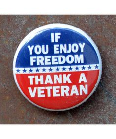 Thank a Veteran MiniButton