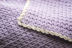 Handmade crocheted baby blanket by ScandiKnit on Etsy