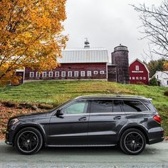"""""""The exposed wood paneling of the Woodstock, VT region's agrarian architecture represent the town's rural past, just as the elegant design of the GL550…"""""""