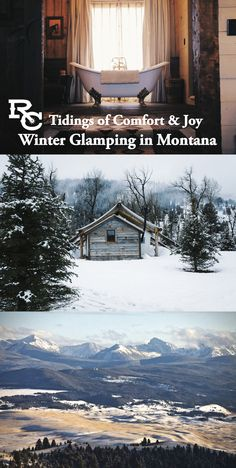 The Ranch at Rock Creek in Philipsburg, Montana is making preparations for the winter glamping season. If you love the outdoors and luxurious comfort, then glamping might be for you.