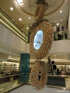 """""""Mall decoration"""", pinned by Ton van der Veer"""
