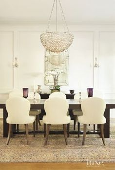 Classic and glamorous Dining Room