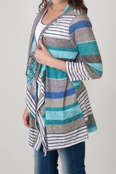 Spring Stripe Cardigans   Jane