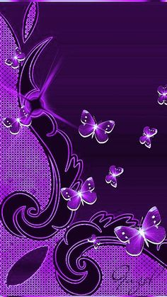 Floating along time, will pass! Purple Love, Purple Ombre, All Things Purple, Purple Rain, Shades Of Purple, Purple Stuff, Heart Wallpaper, Love Wallpaper, Cellphone Wallpaper
