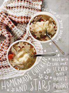 Slow Cooker Recipes, Crockpot Recipes, Soup Recipes, Recipies, Fall Recipes, Real Food Recipes, Yummy Food, Chicken Noodle Soup, Bon Appetit