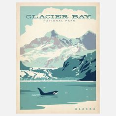 Glacier Bay Natl Park 18x24 now featured on Fab.
