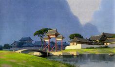 scurviesdisneyblog: Mulan visual development by Saiping Lok...