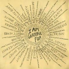 A great Thanksiving project - make a pinwheel like this and fill it in with all you are grateful for:)
