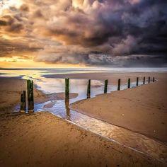 Brancaster Beach Norfolk.
