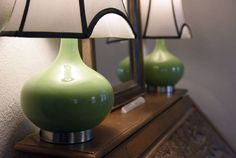 Jami Wade says she always has green as an accent color in her home. Wade has green lamps, vases and chairs in her June 2016 Golden Hammer award-winning home in Jefferson City.