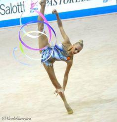 Yana Kudryavtseva Pesaro 2016 ribbon
