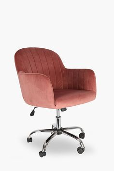 Working long hours at your desk are made comfortable with our regency velvet office chair. This chair has castors for easy mobility and is upholstered with Large Furniture, Upholstered Furniture, New Furniture, Office Furniture, Office Chairs, Velvet Office Chair, Chair Pictures, Green Velvet, Regency