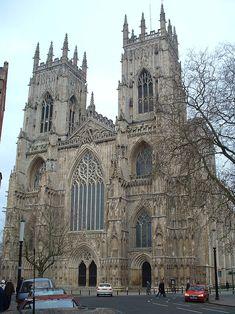 Йоркский собор, вид с запада
