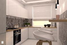 projekt aranżacji mieszkania we Wrocławiu - Kuchnia, styl skandynawski - zdjęcie od Dekoncept