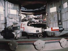 SHADO Interceptor Ship from the UK TV series UFO, 1969-70.