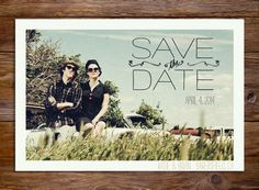 So many adorable save the date photo ideas!