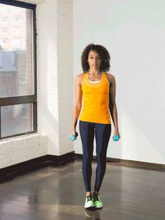 11. Side Leg Raise With Side Bend #standing #abs #workout http://greatist.com/move/abs-workout-best-abs-exercises-you-can-do-standing-up