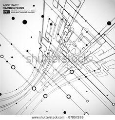 abstraktní textura / síť