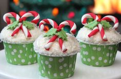 23 Pinterest-worthy Christmas creations you really must pin (and make!) this Christmas - Candy cane cupcakes - goodtoknow