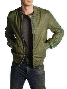 DIESEL BLACK GOLD - Leather jackets - LINSERT