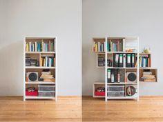 modular shelving system by Leipzig based designer Yi-Cong Lu