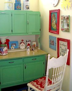 Into Vintage: other people's kitchens