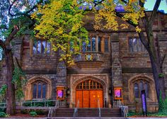 Yale University theater, New Haven, CT