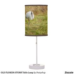 OLD FLORIDA STORK Table Lamp