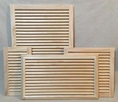 Details about 24x24 Decorative Air Return Vent Covers from Worth