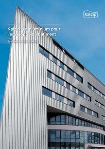 Kalzip® en aluminium pour l'enveloppe du bâtiment Kalzip® nium ...