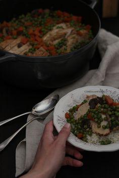 Estufado, Slow cook, Receitas com Ervilhas, Receita Carne Estufada, Caramelização
