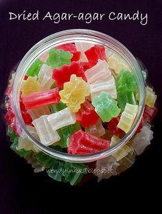 Agar-agar candy