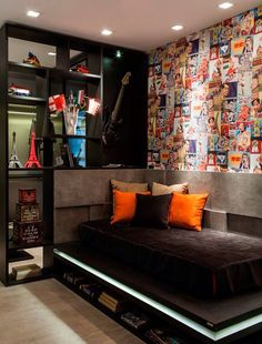 36 Modern And Stylish Teen Boys\' Room Designs | DigsDigs | Model ...