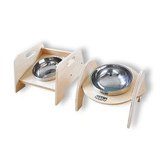 ==> [Free Shipping] Buy Best Round square stainless steel cat dog water food bowl for dog feeding bowl with stand cats dogs bowls pet products supplies Online with LOWEST Price   32817351880