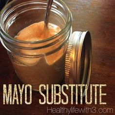 One thing you should know about me is I LOVE MAYO! I used to put double mayo on my sandwiches at delis y'all! When I started my journey to healthy-ier eating mayo. Healthy Mayo, Healthy Foods, Mayonnaise Substitute Healthy, Healthy Eating, Healthy Salads, Healthy Recipes, Healthy Alternatives, Healthy Options, 21 Day Fix Dressings