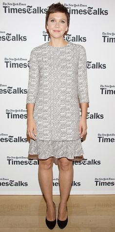 Look of the Day - July 27, 2014 - Maggie Gyllenhaal in Chloe from #InStyle